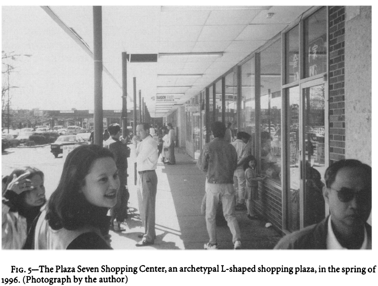 "Wood, Joseph. ""Vietnamese American Place Making in Northern Virginia"" Geographical Review 87, no. 1(January 1997), 58-72."